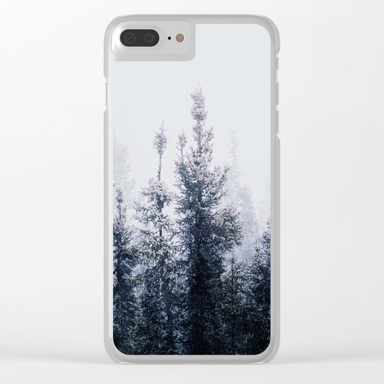 Waste a moment in the forest Clear iPhone Case