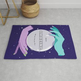 I see an amazing woman Rug