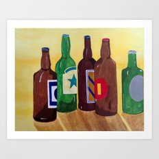 Its 5 o'clock somewhere... Art Print