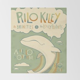 Rilo Kiley Throw Blanket