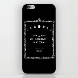 Witchcraft A Handbook of Magic Spells and Potions iPhone Skin