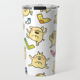 Sleepy Piggy! Travel Mug
