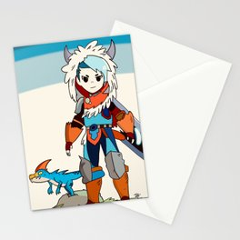 Rider and his Velocidrome Stationery Cards
