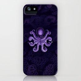 Octopus2 (Purple, Square) iPhone Case