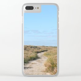 Trail through the Dunes Clear iPhone Case