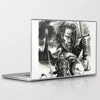 aragorn Laptop & iPad Skins featuring Aragorn by Juan Pablo Cortes