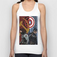 winter soldier Tank Tops featuring Winter Soldier by Evan Tapper