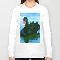 noir Long Sleeve T-shirts featuring NOIR by FOXART  - JAY PATRICK FOX