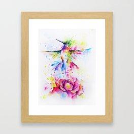 La Vie en Rose I Framed Art Print
