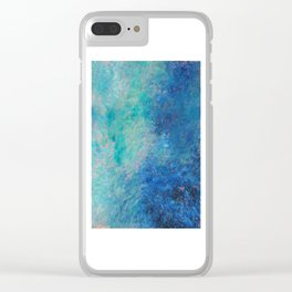 Water II Clear iPhone Case