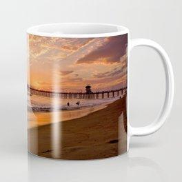 Surf City Sunsets   9/10/15   Huntington Beach California  Coffee Mug