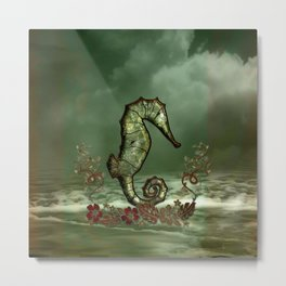Wonderful seahorse Metal Print