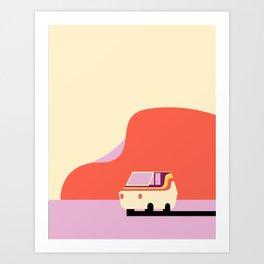 Mr Universe's Van Art Print