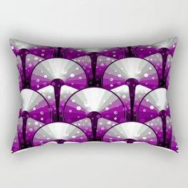 Asexual Pride Shining Deco Disks Pattern Rectangular Pillow