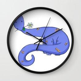 Daisy Dinosaur Wall Clock