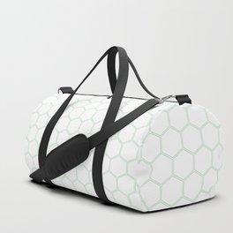 Honeycomb - Mint Green #192 Duffle Bag