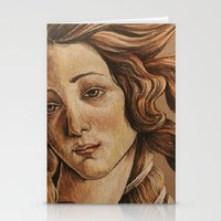 venus Stationery Cards featuring Venus  by Ashley Anderson