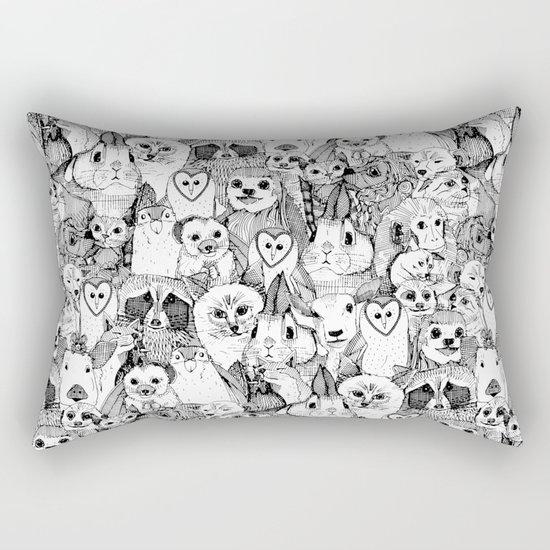 love and hugs Rectangular Pillow