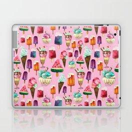 ice-cream pattern Laptop & iPad Skin