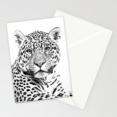 Cheetah Sketch Stationery Cards