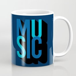 Music (text) Coffee Mug