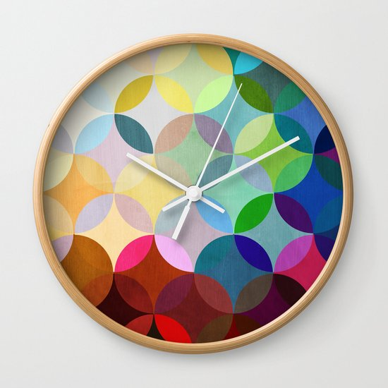 Circular Motion Wall Clock