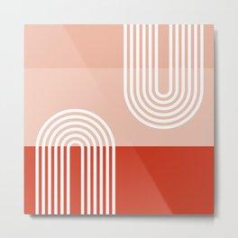 Terracota Pastel #society6 #decor #buyart #artprint Metal Print