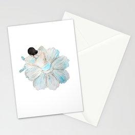 Lady Ballet Stationery Cards