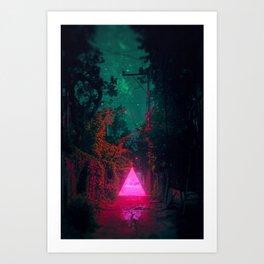 ▲ Triangle Alleyway ▲ Art Print