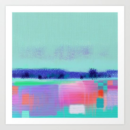 Landscape Love Art Print