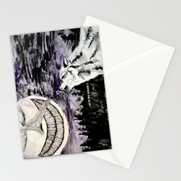 On The Full Moon Stationery Cards