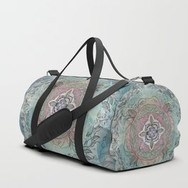 the four directions, a medicine wheel Duffle Bag
