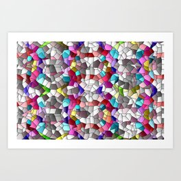 Relax with colors 3 ... Art Print