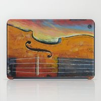 violin iPad Cases featuring Violin by Michael Creese