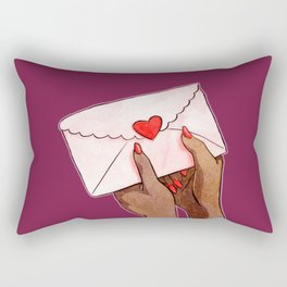 Love Love Love Rectangular Pillow