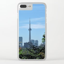 CN Tower from Casa Loma Clear iPhone Case