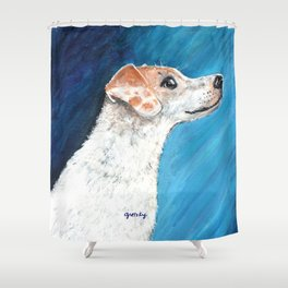 Jack Russell Terrier 2 Shower Curtain