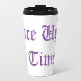 ONCE UPON A TIME in purple Travel Mug