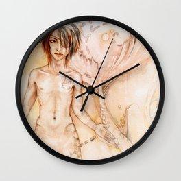 Faces of the Ocean Wall Clock