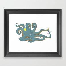 Octobarbie Framed Art Print