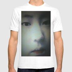 Little Asian Girl MEDIUM White Mens Fitted Tee