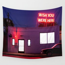 Wish You Were Here Wall Tapestry