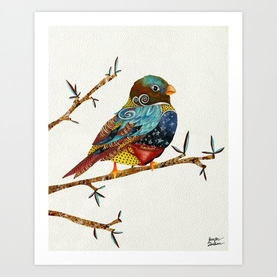Twilight Bird Art Print
