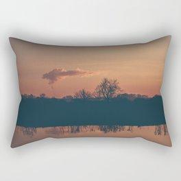River Runs Red Rectangular Pillow