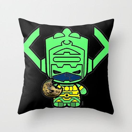 Chibi-Fi Galactus Throw Pillow