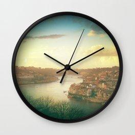 Porto landscape Wall Clock