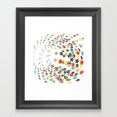 Full of stars Framed Art Print