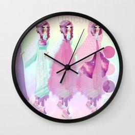 Unicorn Hime Design Sheet Wall Clock