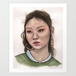 mulan_bae Art Print