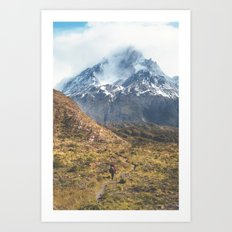 The Mountain is Calling 02 Art Print